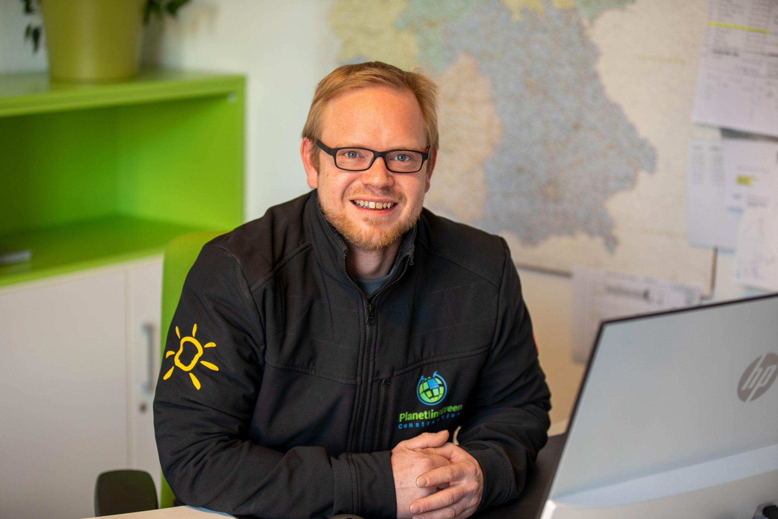 Neuer Mitarbeiter bei Planet in Green
