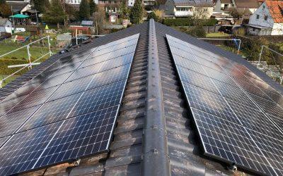 Projektabschluss: Solardach in Lage